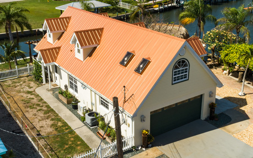 Image of D.R. Martineau Roofing Company | Best Roofing | Residential Roofing - Roofing Metal - SJC Copper Roofing Company