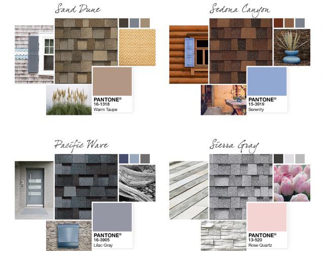 hingle Roof Options Colors