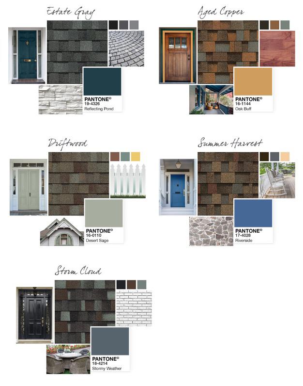 Shingle Roof Options Colors